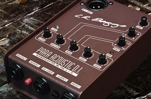 Lr Baggs Para Di Acoustic Direct Box And Preamp With 5 Band Eq Acoustic Direct Boxes Acoustic Guitar