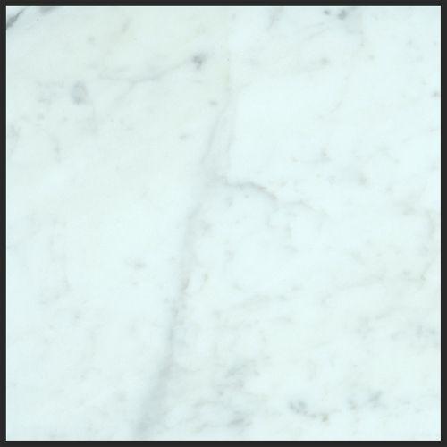 Alya Stone Tile- Bianco Carrara 12x12 Honed Marble Tile