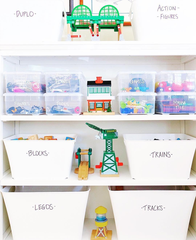 Pin on Organized Toys & Playroom