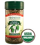 Frontier Organic Black Pepper