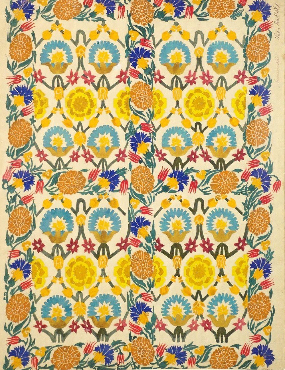 Textile_print_by_Leon_Bakst_05.jpg (999×1296)