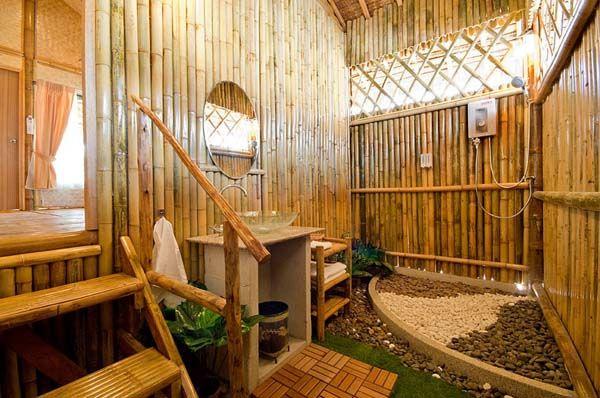 20 Neat Bamboo Themed Bathrooms Japanese Bathroom Design