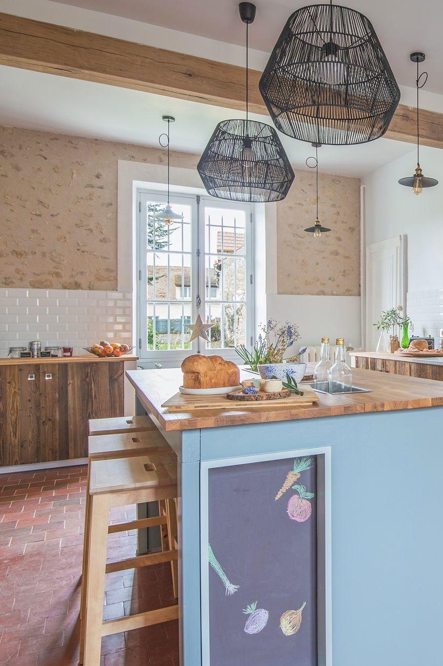 Cuisine bleue la tendance du bleu en cuisine maison en Cuisine de caractere