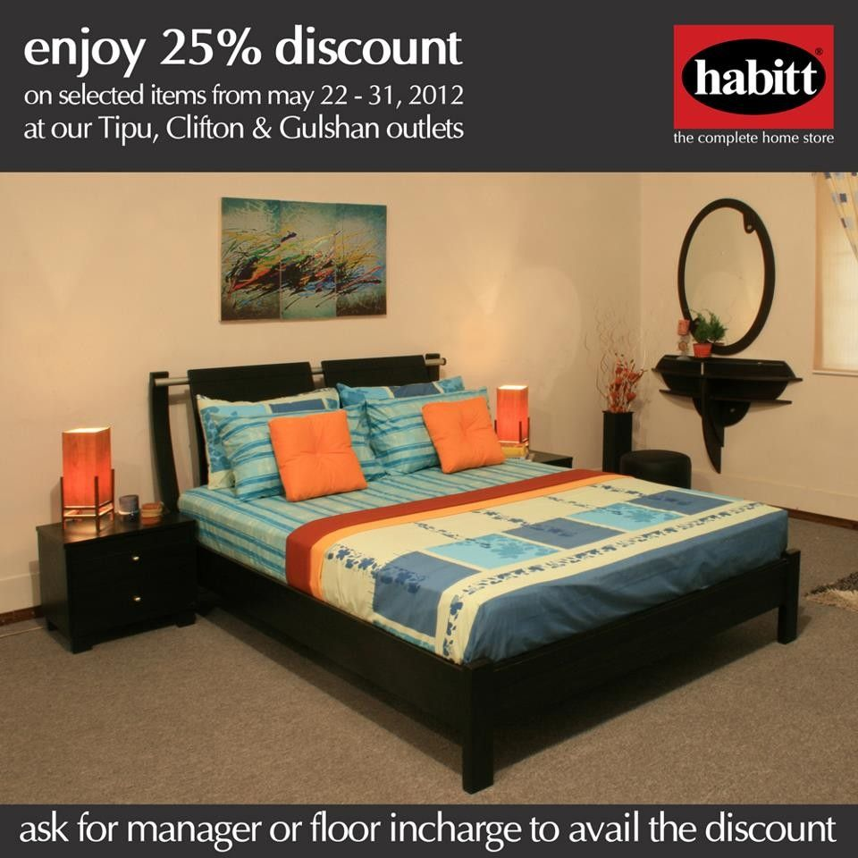 Enjoy 25 discount on the purchase of bedroom set from for Bedroom furniture designs pictures in pakistan