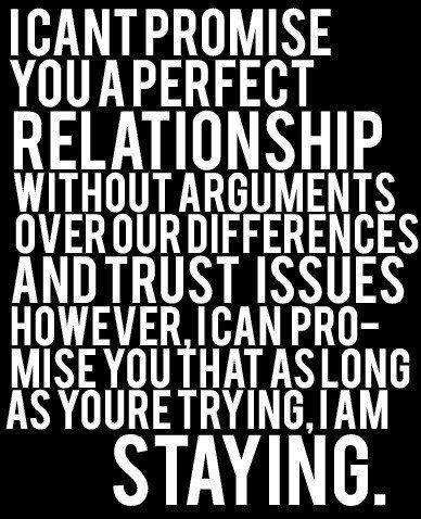 how to work through trust issues in a relationship