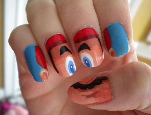 1000 Images About Funny Nails On Pinterest Halloween Nails Party Nails And  Minion Nails - Stylish Nail Art Designs And Ideas Beauty Tips Hair Care. 1000