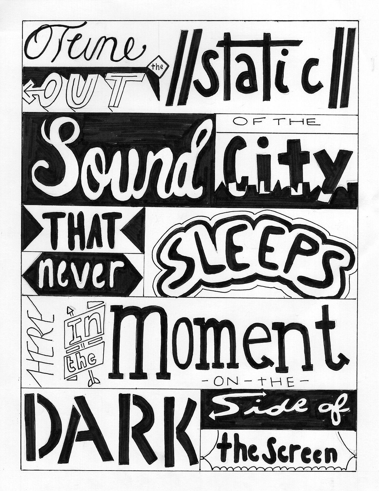 Disconnected - 5 Seconds Of Summer - Lyrics Art