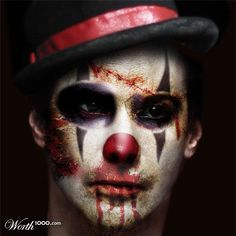 Discord (ring master) male circus makeup - Google Search | Cinema ...