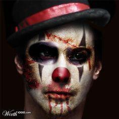 Discord (ring master) male circus makeup - Google Search | Cinema ...