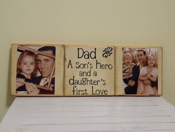 Father S Day Gift Dad Sign Unique From Kids Husband Idea For Birthday First Love