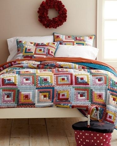 50 Quilts To Eye, Create, Or Buy | Log cabin quilts, Log cabins ... : quilt pinterest - Adamdwight.com