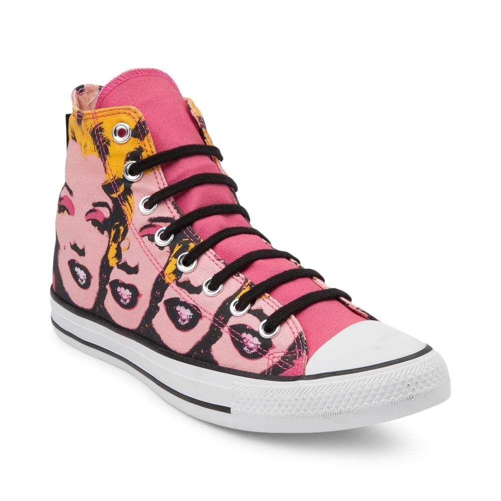 28e709e5e161 Converse Chuck Taylor All Star Hi Warhol Marilyn Monroe Sneaker ...