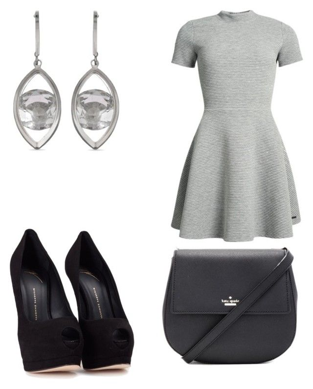 """Untitled #7930"" by ohnadine on Polyvore featuring Superdry, Giuseppe Zanotti and Kate Spade"