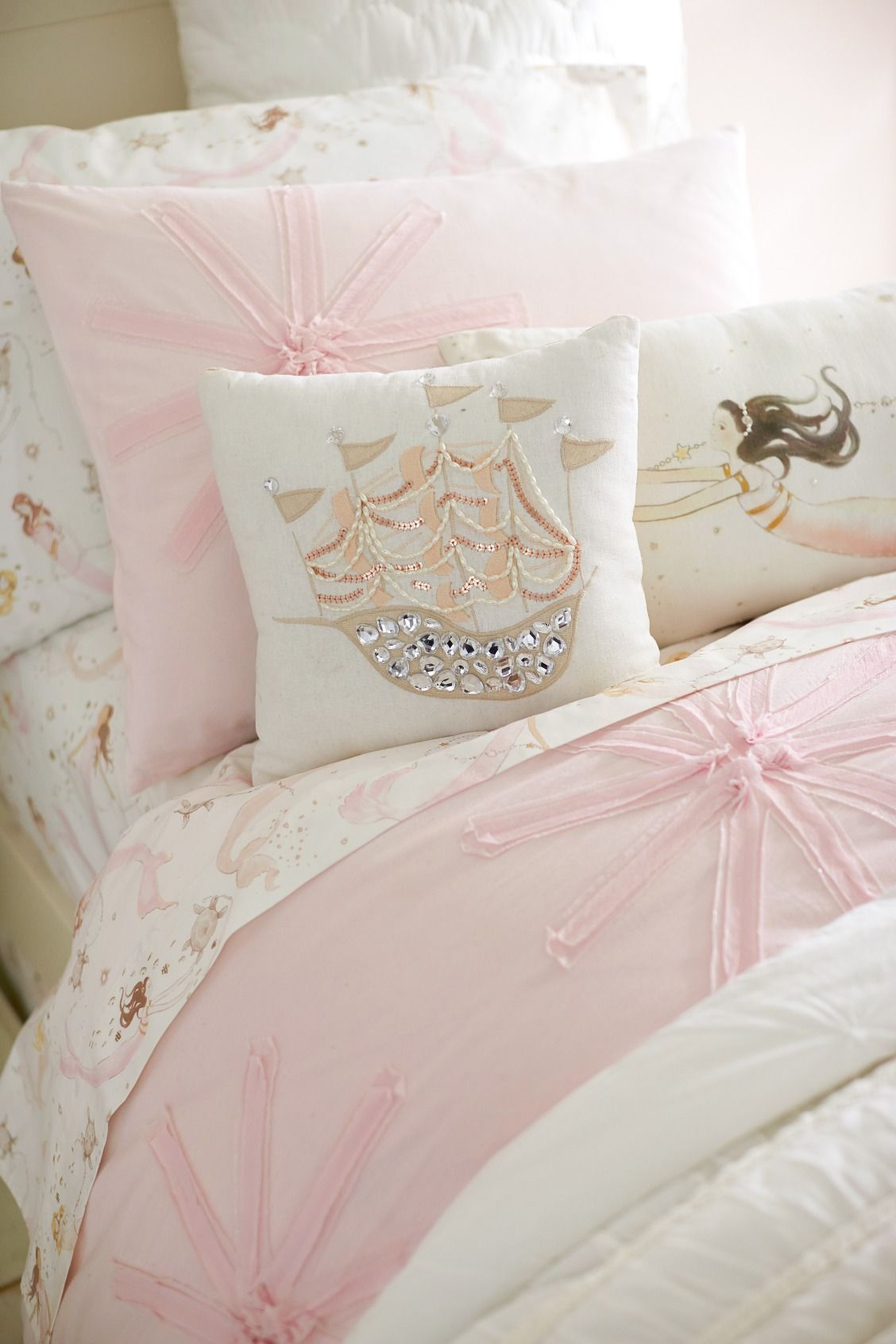 Under The Sea Themed Bedding Toddler Bed Girl Girl Room
