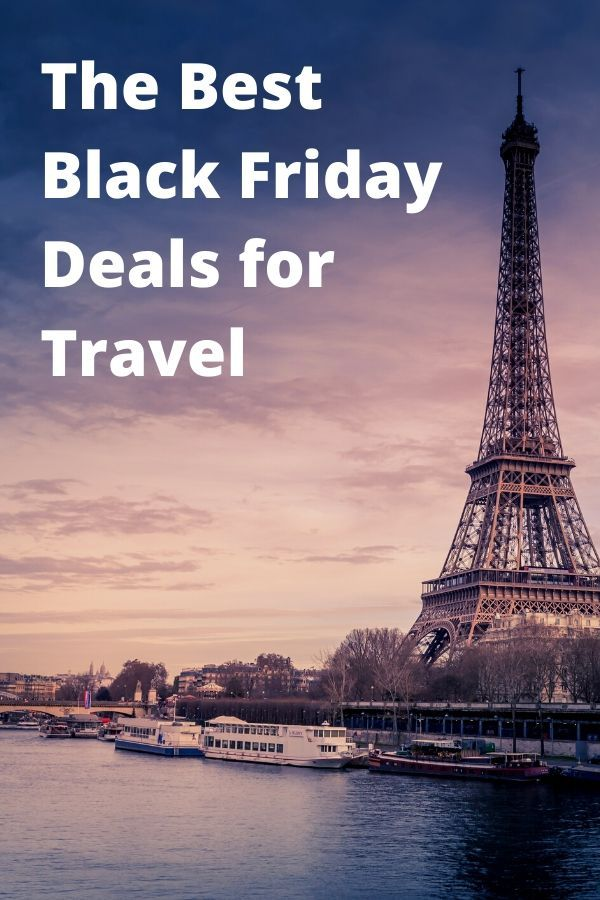 The Best Black Friday and Cyber Monday Deals for Travel in