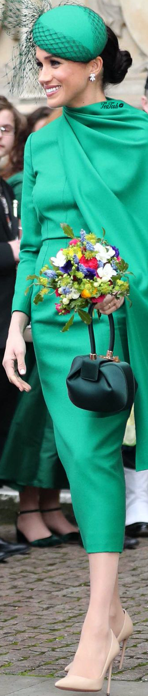 ❈Téa Tosh❈ Meghan prepares to leave after attending the Commonwealth Day services #teatosh #MeghanMarkle