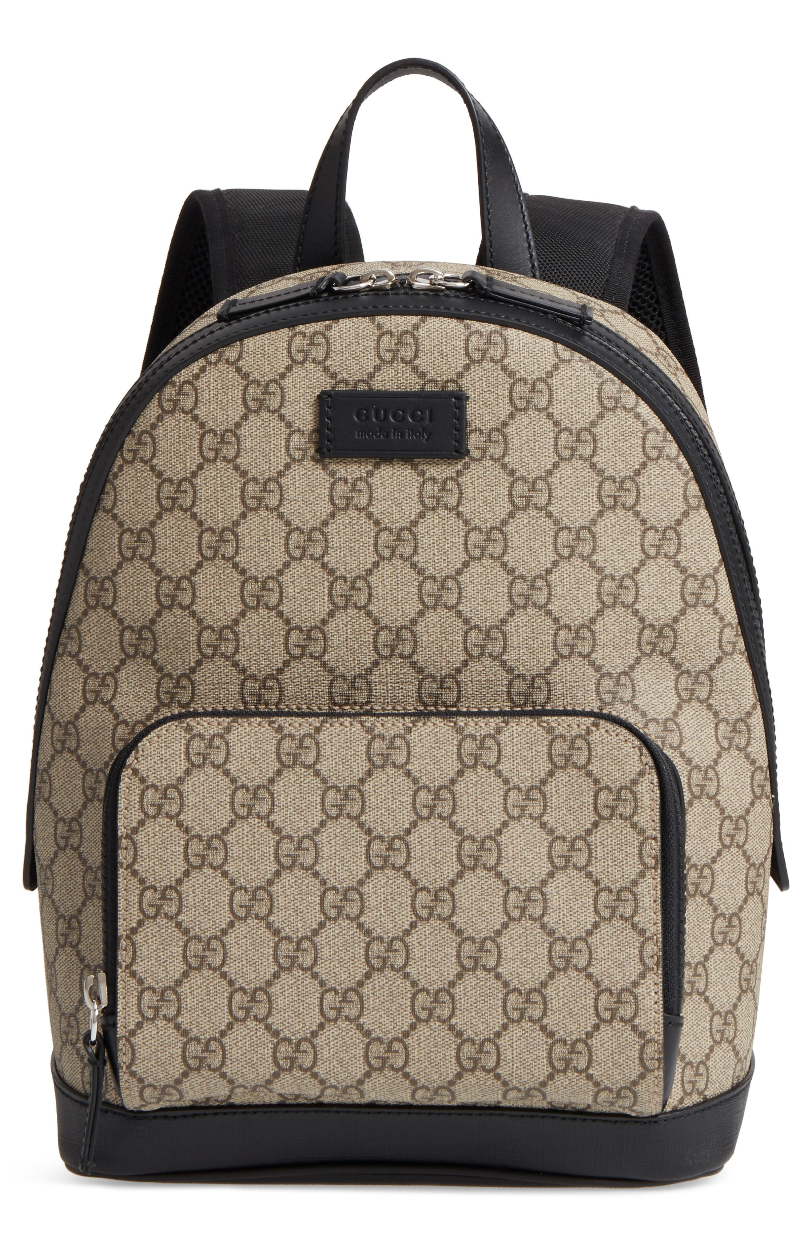 941df8cc6e8 GUCCI EDEN CANVAS BACKPACK - BEIGE.  gucci  bags  leather  canvas  backpacks