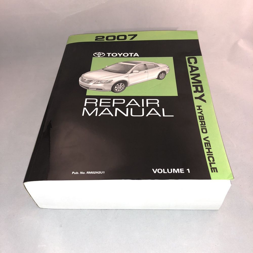 2007 Toyota Camry Hybrid Shop Service Repair Manual Volume 1 Only