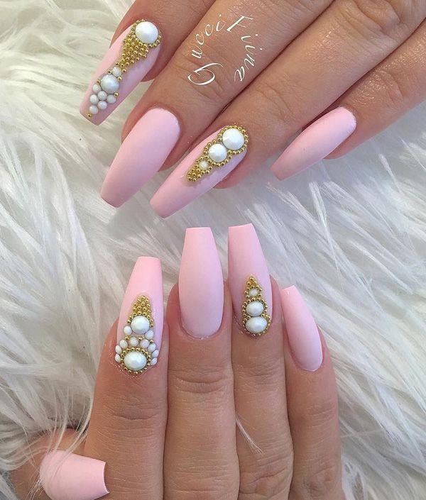 Imagem relacionada   Joias de unha   Pinterest   Decoración de uñas ...
