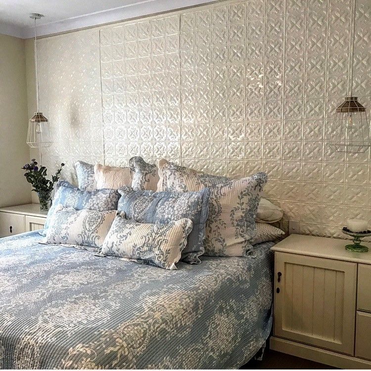 Pressed Metal Panels Bring New Energy To The Bedroom Photos Restoration Online