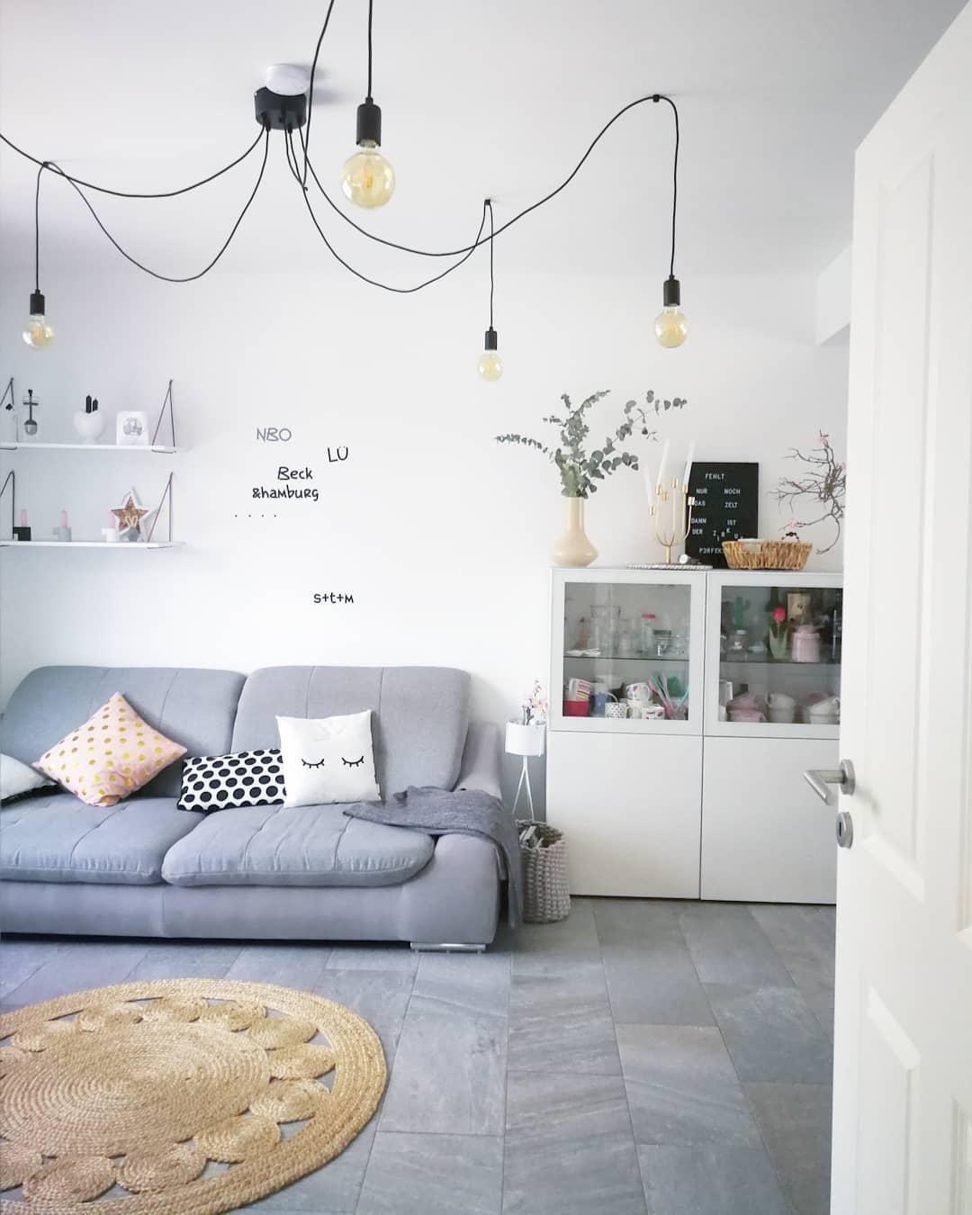 Pendelleuchte Spindel Wohnzimmer Industrial Design Nordic Style