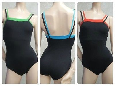 NEW Natalie Double Strap Camisole Leotard--Adult sizes S M L -- style N8007