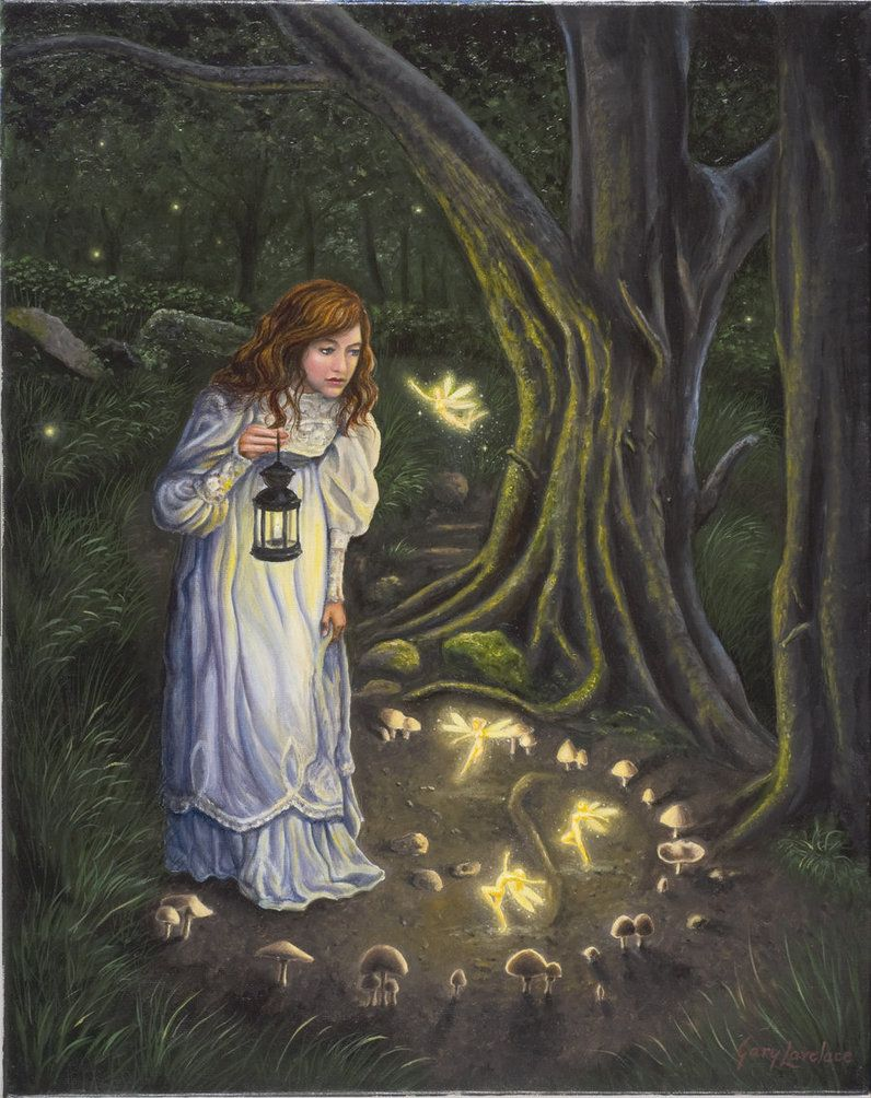 Fairy ring by garylovelace on deviantart the invisible for Fairy painting easy