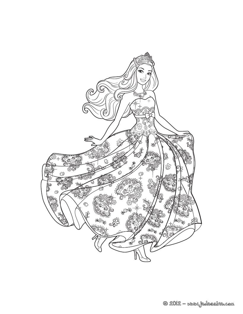 barbie princess and the popstar coloring pages 03