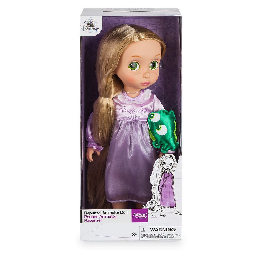 Disney Tangled Flynn Rider Animators Collection Toddler Doll Figure NEW