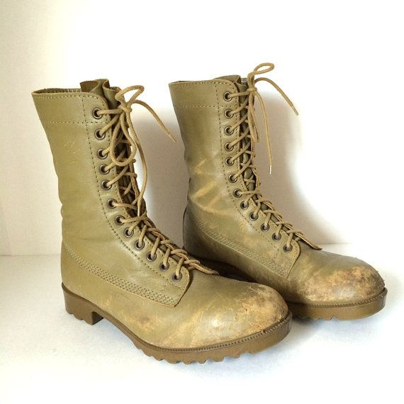 Vintage Retro AUSTRALIAN ARMY GP Patrol Boots by pascalvintage ...