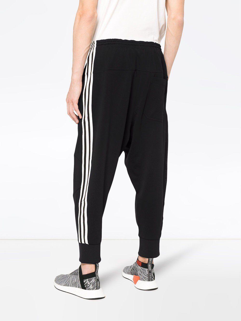 1de026de6121 Three Stripes Track Pants - Adidas Y-3 Yohji Yamamoto