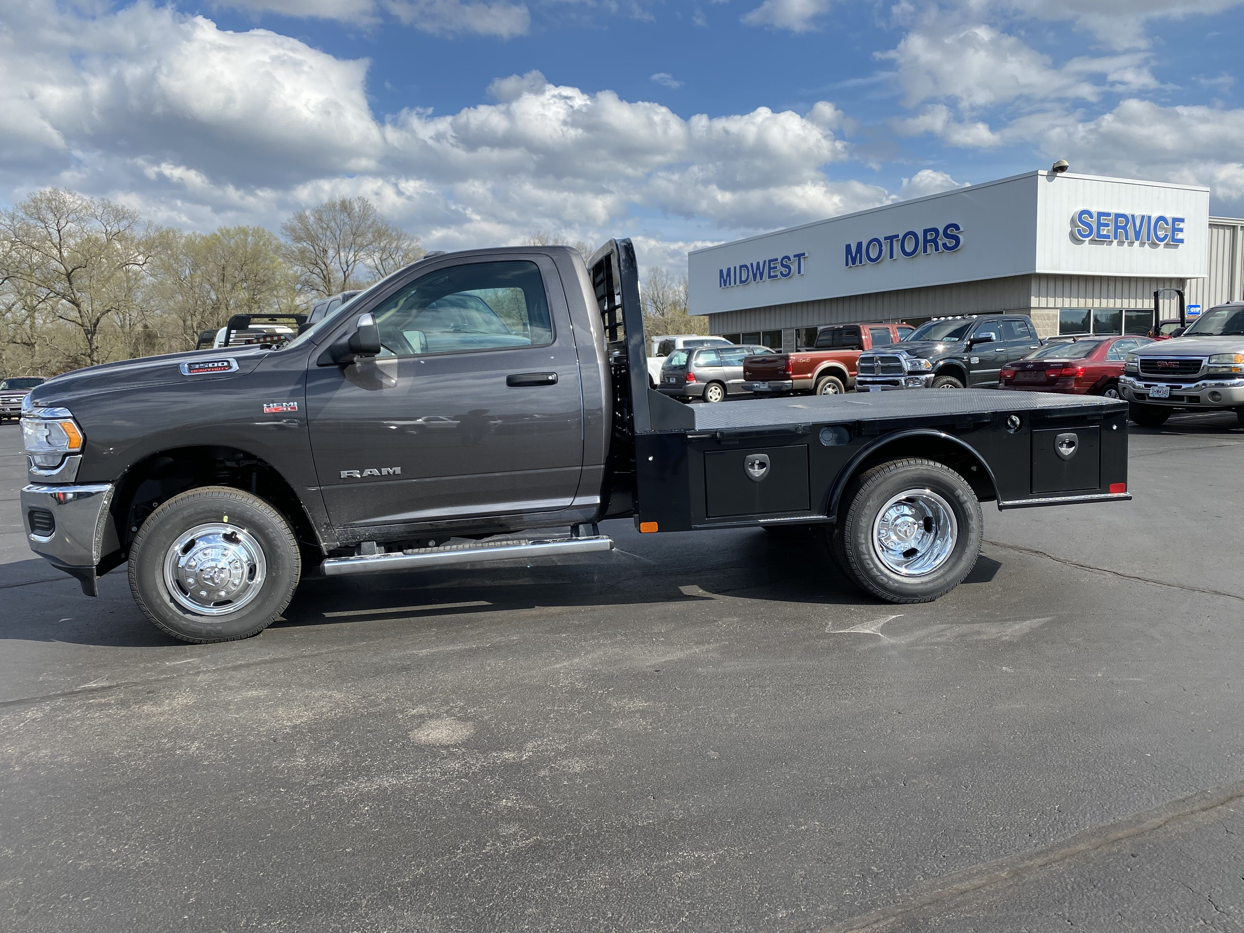 Ram 3500 With Skbed Work Truck Used Cars Cars Trucks