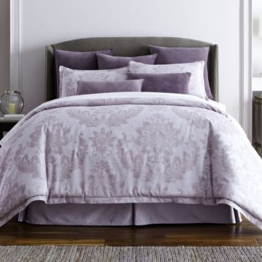 Royal Velvet® 4-pc. Crescent Comforter Set & Accessories found at ...