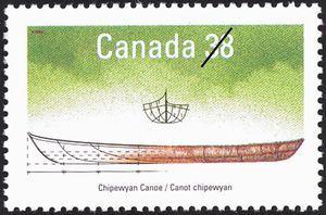 Chipewyan Canoe