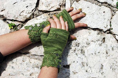 Ravelry: teacosy's Veyla | Arm warmers, Fingerless, Pattern