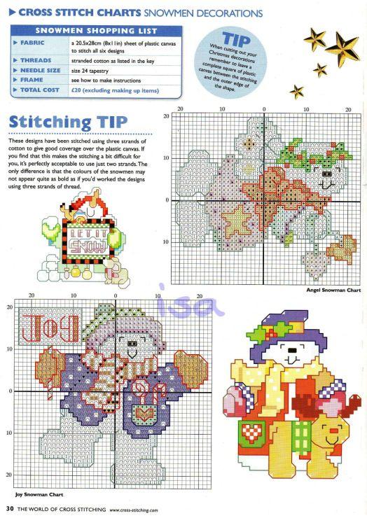 Gallery.ru / Фото #16 - The world of cross stitching 040 декабрь 2000 - WhiteAngel