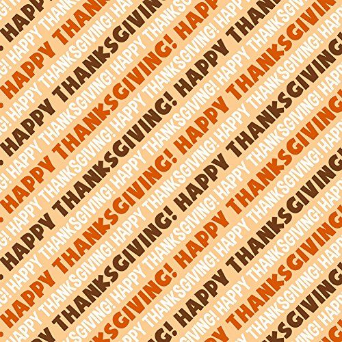 Happy Thanksgiving Premium Gift Wrap Wrapping Paper Roll