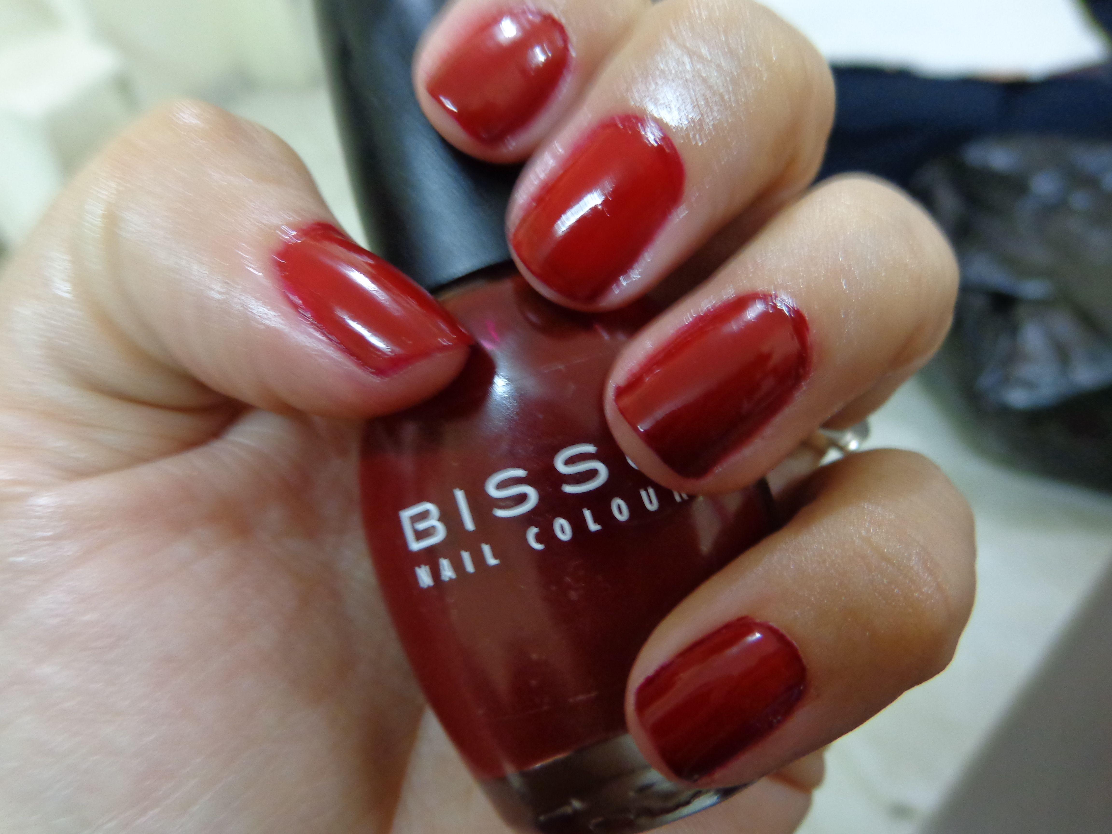 016 Merlot Bissu , uno de mis esmaltes favoritos | ideas uñas ...