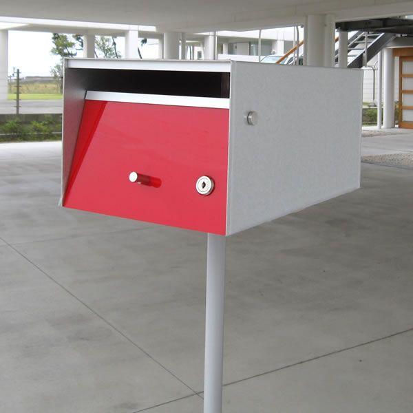 都市型おしゃれな郵便受けとしても 北欧シンプルな郵便受けにも