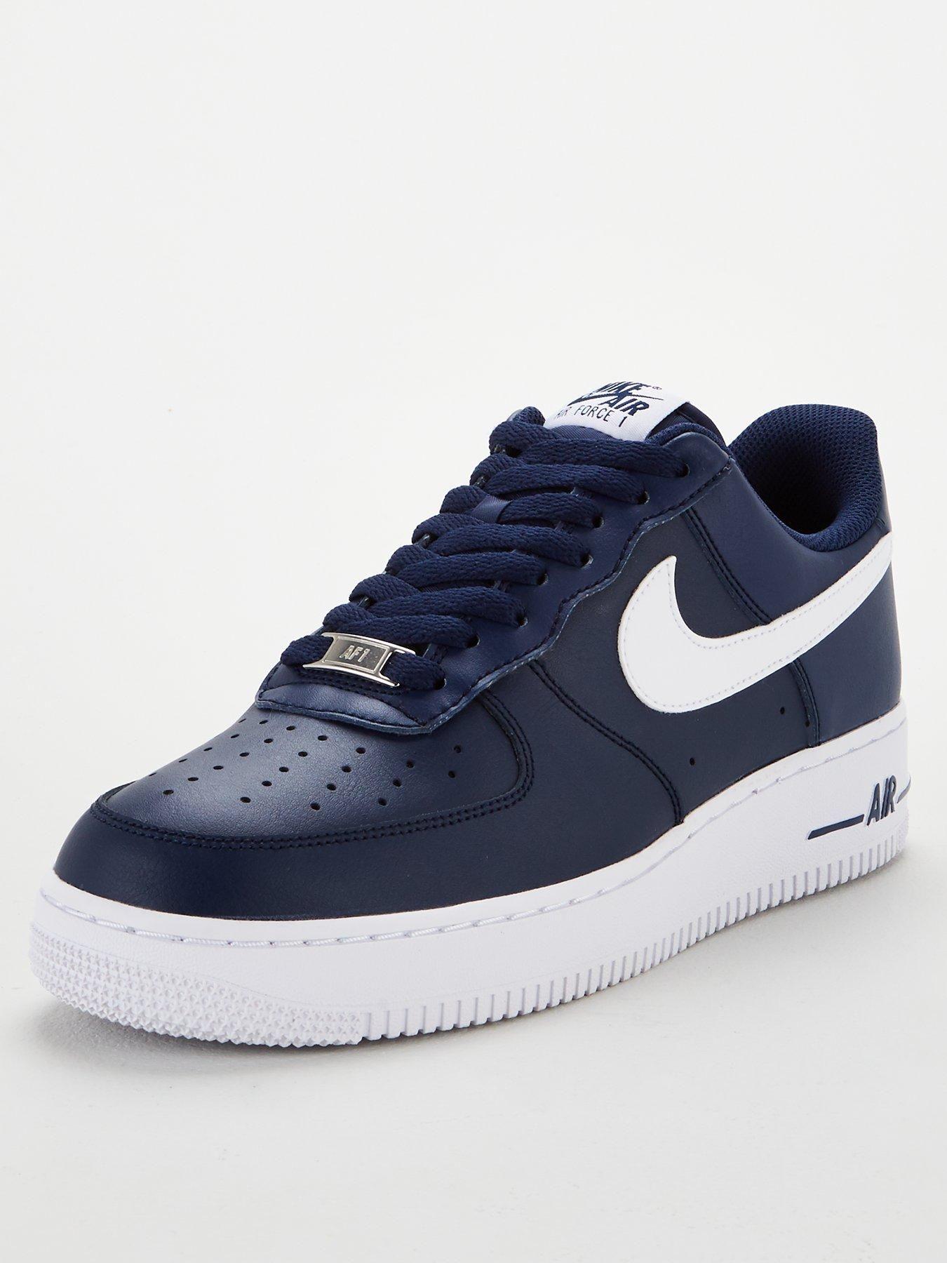 Air Force 1 '07 AN20 - Navy/White | Nike air force, Nike air ...