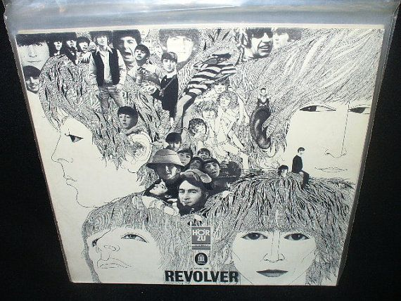 Beatles The  Revolver Odeon  SHZE 186 Vinyl LP by prosperpaper, $30.00