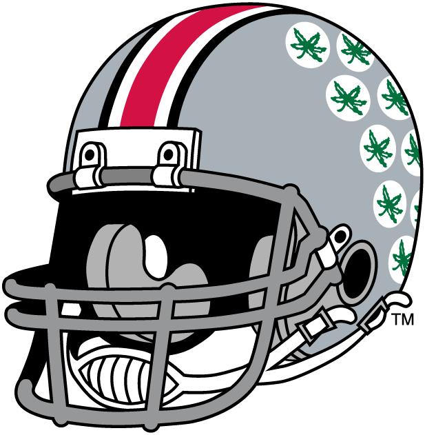 Ohio State Buckeyes Helmet Logo 1968 Decals Ohio