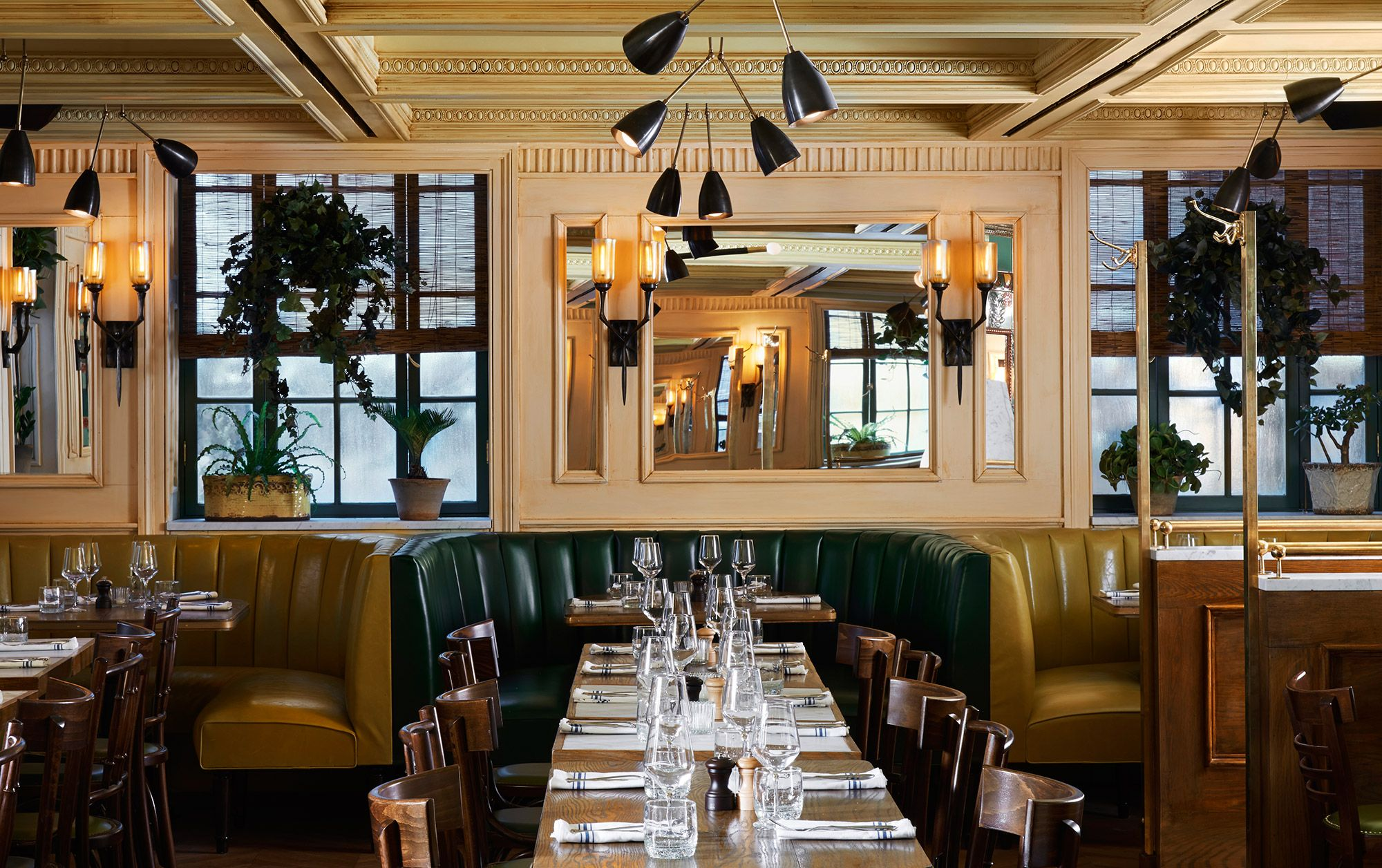 Margaux Restaurant At The Marlton HotelGreenwich Village NYC