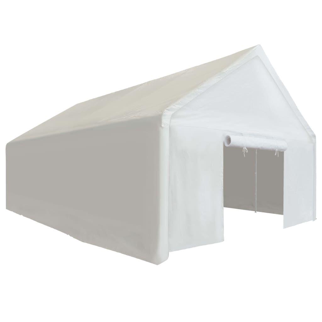 Storage Tent PE 4×8 m White