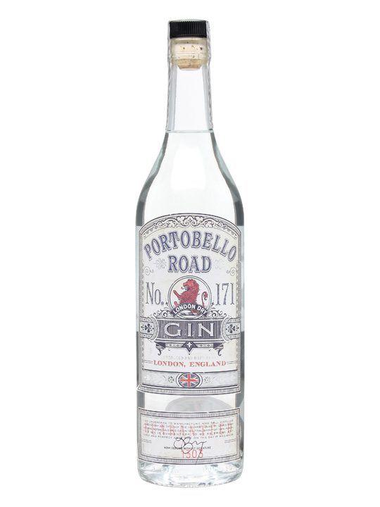 Portobello Road No.171 London Dry Gin 70cl | London dry gin, Dry gin ...