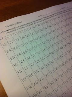 IXL Tracking Sheet. She has a sheet that could be used to track Raz ...