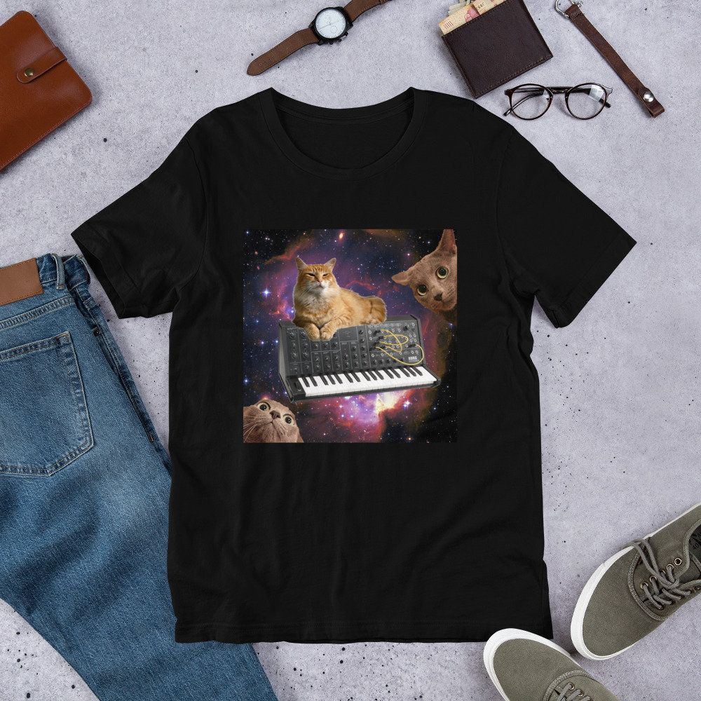 The Cat And Moon Standard Unisex T-shirt