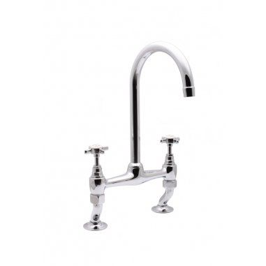 Albion Bath Company - Beaufort Bridge Mixer Tap : British basin ...