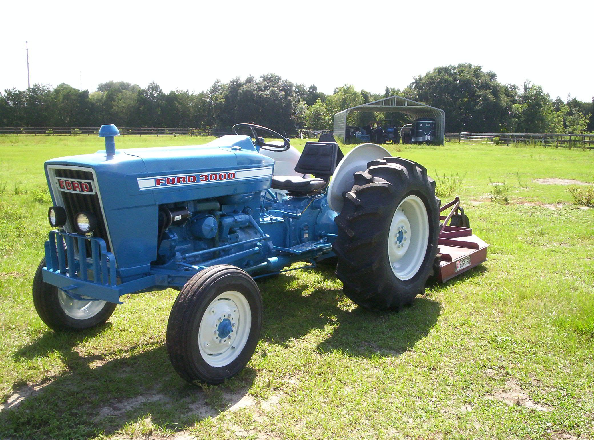 Ford 3000 Farm Tractor : Ford farm tractors and implements pinterest