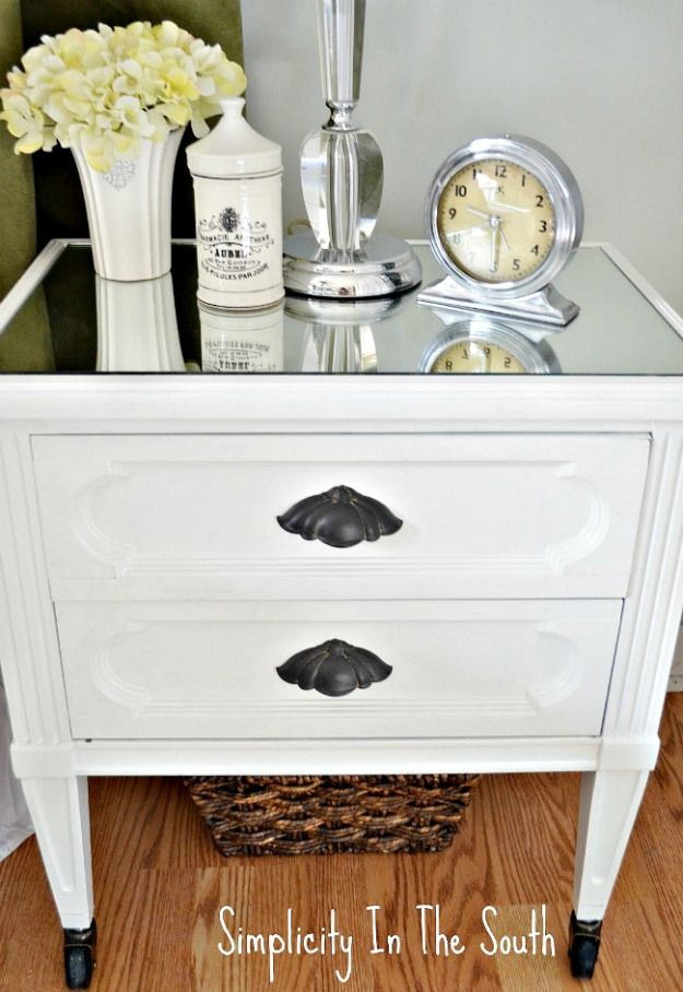 How A Little Diy Turned My So So Nightstands Into So Spectacular